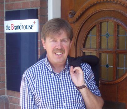 John Niemeijer voor pand The Brandhouse